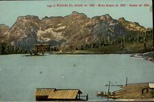 Lago di Misurina del Cadore Postkarte ~1910/20 Panorama mit Sorapis und Antelao