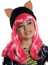 Child Monster High Howleen Wolf Wig Outfit Fancy Dress Halloween Kids Girls