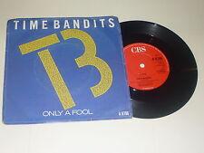 """Tiempo bandidos-sólo un tonto - 1985 Reino Unido 2-track 7"""" SINGLE VINILO"""
