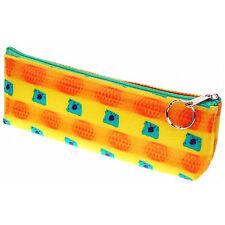 Orange Paw Yellow Background Pencil Case 3D Lenticular #Sobre-112#