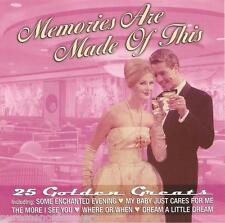 V/A - Memories Are Made Of This: 25 Golden Greats (UK/EU 25 Tk CD Album)