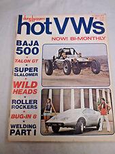 Magazine: HOT VWs & DUNE BUGGIES. 1972 October. Baja 500. Riverside. Talon Mk II