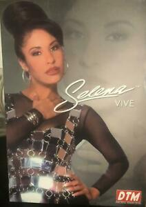 12 inch Original Selena Quintanilla Doll w Poster and Necklace RARE Hard to Find
