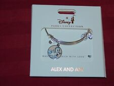 Disney Parks Alex & Ani Baby Pegasus Silver Bangle The Winged Horse of Hercules