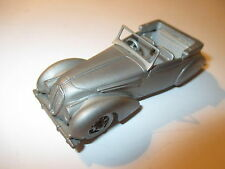 Delahaye 135 MS (1947) Cabriolet, Zinn Pewter, Danbury Mint ca. in 1:50!