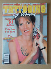 #59 TATTOOING BY WOMEN 1991 MAGAZINE SIGNED BY PAT SINATRA AND DANNY