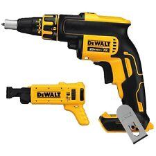 DEWALT DCF620B 20V Li-Ion Screwdriver Drywall Screw Gun + DCF6201 Attachment