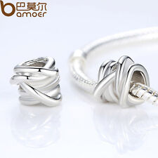 Luxury Silver Charms Beads Fit 925 European Bracelets Bangle For Women Christmas