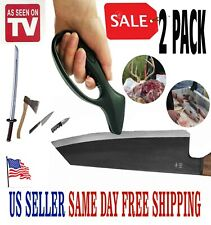 KNIFE SHARPENER Kitchen Hunting Fishing Swords Tools Tungsten Carbide 2 Pack
