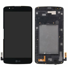 Original LG K7 K330  LCD Touch Screen Digitizer (Black) Replacement +Frame US