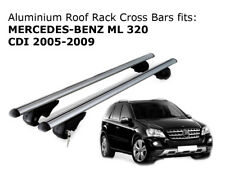 Aluminium Roof Rack Cross Bars fits MERCEDES BENZ ML 320 2005-2009