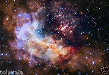 Photo Nasa - Hubble - Westerlund 2 Amas Stellaire de la Voie Lactée - Carène