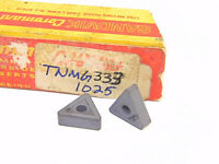 NEW SURPLUS  10PCS.  SANDVIK  TNMG 333  GRADE: 1025  CARBIDE INSERTS