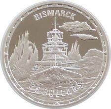 2005 Legendary Fighting Ships Bismarck $25 Dollar Silver Proof 1oz Coin