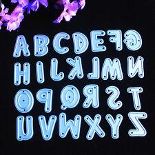 Letter Cutting Dies Stencil DIY Scrapbooking Album Handwork Embossing Craft