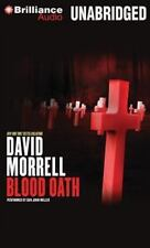 BLOOD OATH unabridged audio book on CD by DAVID MORRELL - Brand New - 7.5 Hours