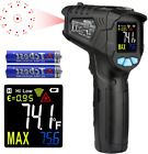 Infrared Thermometer Temperature Gun MESTEK Non-Contact Laser Digital with Color
