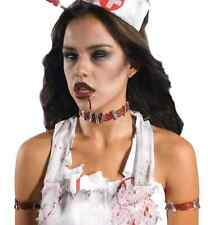 Zombie Staples Prosthetic Wound Scar Fancy Dress Halloween Costume Accessory