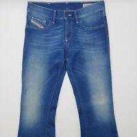 Diesel Livier Flare Wash 0069S_Stretch W29 L34 Super Slim blau Damen Jeans Hose