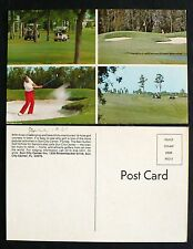 1970s Multiview Golfing at Sun City Center Inn, Sun City Center, Florida