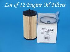 1case of 12 ENGINE OIL FILTERS M5476 Fits: Cadillac CTS V6 3.2L