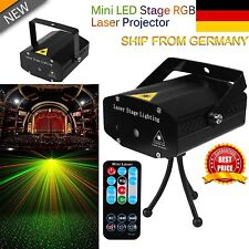 LED Laser LICHT Projector für DJ Disco Bar Stage Party Lighting mini KTV Party D