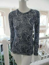 bcbg Maxazria Sunny Long Sleeved Tee Size Small