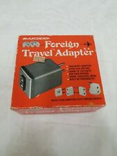 Archer Foreign Travel Adapter Mfg in USA for Radio Shack