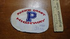 VINTAGE PACIFIC COAST HIGHWAY California State Route 1 CHIPS  - PATCH  BX D #4
