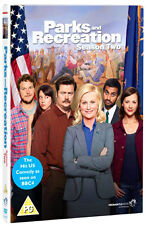 PARKS AND RECREATION - SEASON 2  - DVD - REGION 2 UK