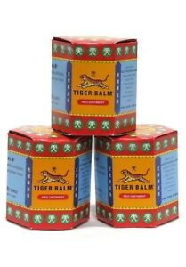 Tiger Balm (Red) Super Strength Pain Relief Ointment 30g  (pack of 3)