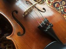 1700's. Violin Germany Von Fried. Aug. Glass / Stradivarius Fils, Cremona 1737