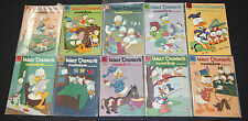 1950's DELL GOLD WALT DISNEY'S COMIC AND STORIES COMIC LOT 10pc #218-235 3.0-5.0