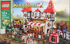 LEGO Castle 10223 Ritterturnier Tribühne Ritter Zelt Burg König Königin NEW  NEU