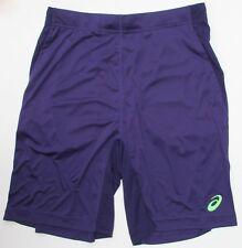 Men's ASICS Shorts Fitness Gym Running Tennis Sports Short S M L XL XXL 2xl Purple 2xl