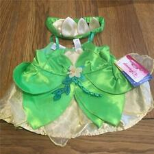 BUILD A BEAR FACTORY BEAUTIFUL RARE & HTF DISNEY TIANA DRESS & HEADBAND BNWT