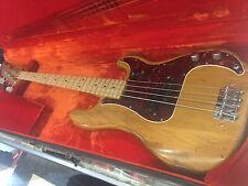 Vintage 1972 Fender Precision Bass Guitar W/ Case