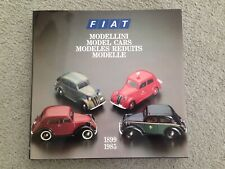 FIAT MODELLINI 1899-1985 ISBN 8885058442