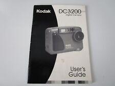 'Kodak Dc3200 Digital Camera User's Guide Manual c. 2000