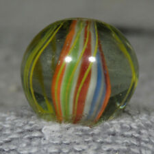 "GORGEOUS SOLID CORE HANDMADE MARBLE  13/16""   0.806""  MINT"