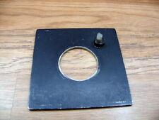 Beseler 23C/ 45M  enlarger lens board with 42mm  filed out lens hole.