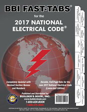 National Electrical Code (NEC) 2017 Loose-leaf BBI Fast-Tabs