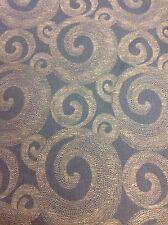 Fabricut Modern Swirl Upholstery Drapery Fabric-Proclaimer/Indigo(4622002) 5.9yd