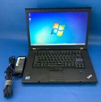 Lenovo ThinkPad T510 Intel i5 2.4GHz 8GB Ram 320GB HDD Windows 7 Pro Laptop
