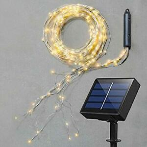 Solar Fairy Lights, Multi Strand 180 LEDs Watering Can String Light Outdoor