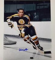 WILLIE O'REE Autograph BOSTON BRUINS Signed 11x14 Photo #4 w/ OC COA + Hologram