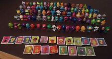 Gogo's Crazy Bones 99 figures Bundle Collection Lot + Autocollants