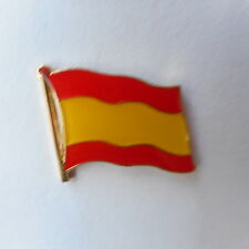 España flaggenpin, ele, bandera, pin, Espania, Spain