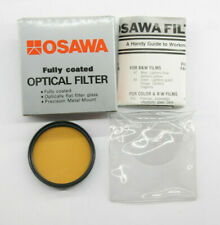 Osawa 49mm Color Optical Lens Filter 85-A with Box - New Old Stock - C983