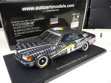 Mercedes 500 SEC AMG Ludwig #6 24h Spa 1989 Autoart 1:18 NEU NEW